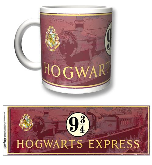 Taza Harry Potter Hogwarts Express