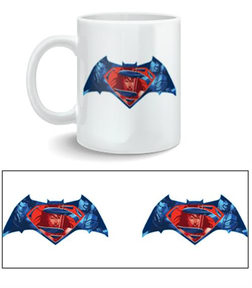 Taza Batman V Superman Logo