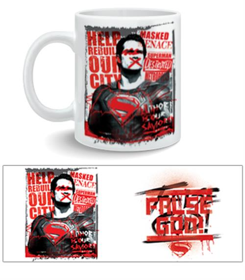 Taza Batman V Superman False God