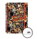 Cuaderno Street Fighter 236178