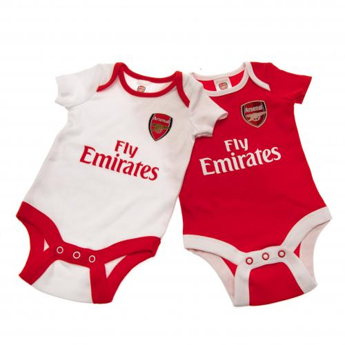 Pack de body de bebé Arsenal (0/3 meses)