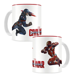 Captain America Civil War Taza Duel