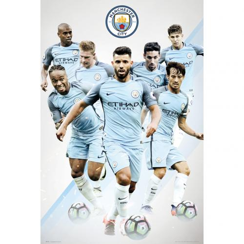 Póster Manchester City FC Players 21