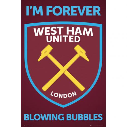 Póster West Ham United Crest 35