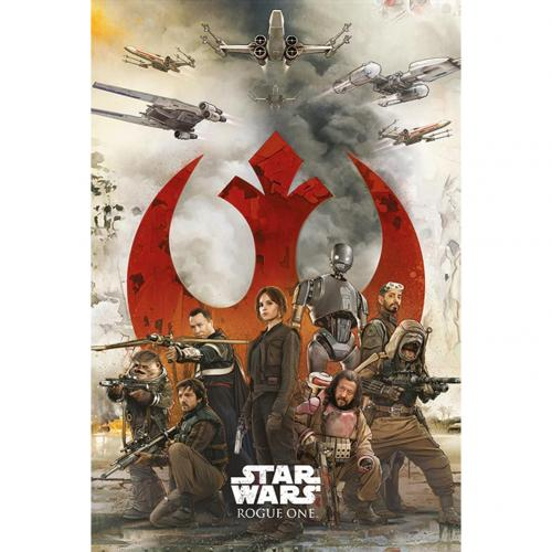 Póster Star Wars Rogue One Rebels 242