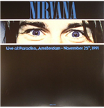Vinilo Nirvana - Live At Paradiso  Amsterdam November 25  1991