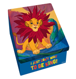 Caja de metal El rey León - Can't Wait To Be King