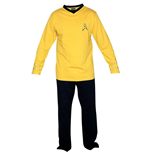 Pijama Star Trek - Yellow Union Suit