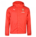 Chaqueta Impermeable Arsenal 2016-2017 (Rojo)