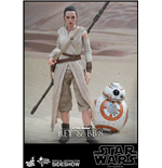 Star Wars Episode VII Pack de 2 Figuras Movie Masterpiece 1/6 Rey & BB-8