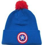 Captain America Gorro Bobble Logo