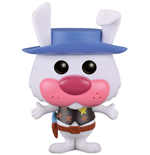Hanna-Barbera POP! Animation Vinyl Figura Ricochet Rabbit (Flocked) 9 cm