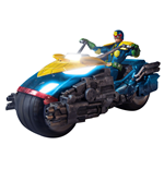 Judge Dredd Figura 1/12 Judge Dredd with Lawmaster Bike Box Set Previews Exclusive 17 cm