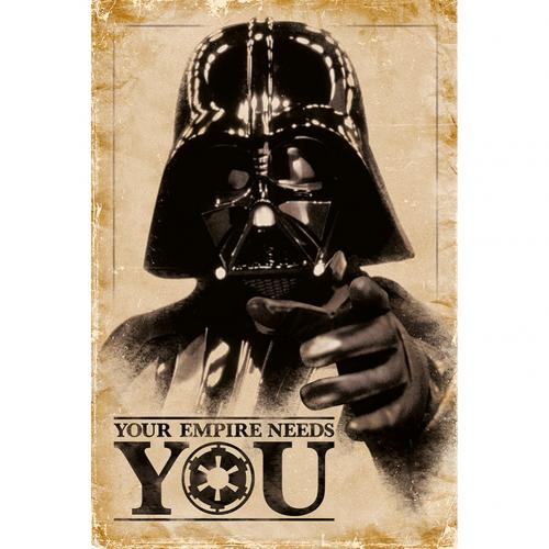 Póster Star Wars Empire Needs You 250