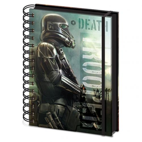 Libreta Star Wars Rogue One Death Trooper A5