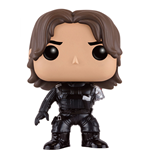 Captain America Civil War POP! Vinyl Cabezón Winter Soldier (No Arm) 10 cm
