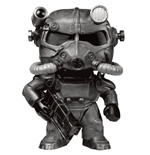 Fallout POP! Games Vinyl Figura T-60 Power Armor (Black) 9 cm
