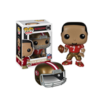 NFL POP! Football Vinyl Figura Colin Kaepernick (SF 49ers) 9 cm