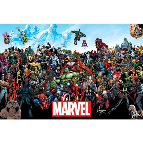 Póster Marvel Superheroes 238110