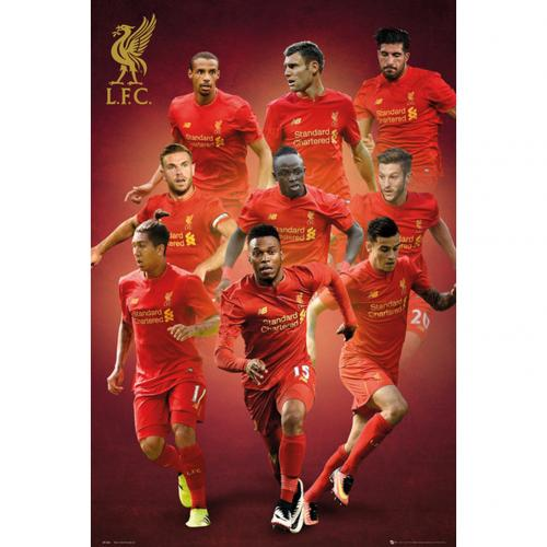 Póster Liverpool FC Players