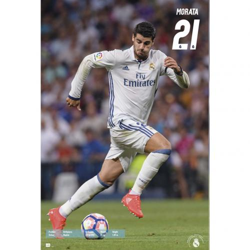 Póster Real Madrid Morata 55