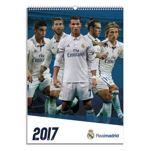 Calendario 2017 Real Madrid F.C.