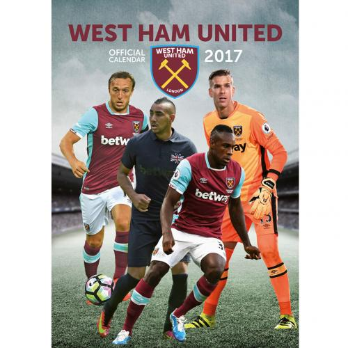 Calendario 2017 West Ham United F.C.