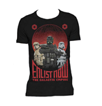 Camiseta Star Wars Rogue One Enlist Now