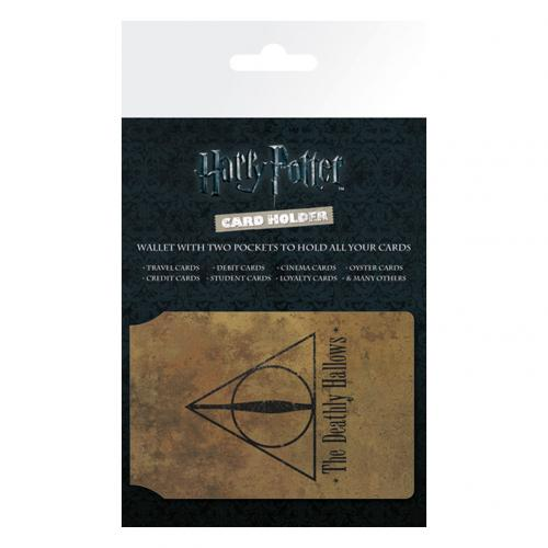 Cartera para tarjetas Harry Potter