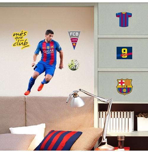 Vinilos decorativos para pared fc barcelona oficiales 2017 for Oferta vinilos pared