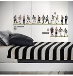 Pegatina para pared Juventus 16 Players