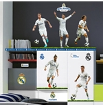 Pegatina para pared Real Madrid 5 Top Players