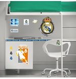 Pegatina para pared Real Madrid 3D Hole