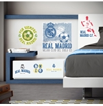 Pegatina para pared Real Madrid Logo Vintage