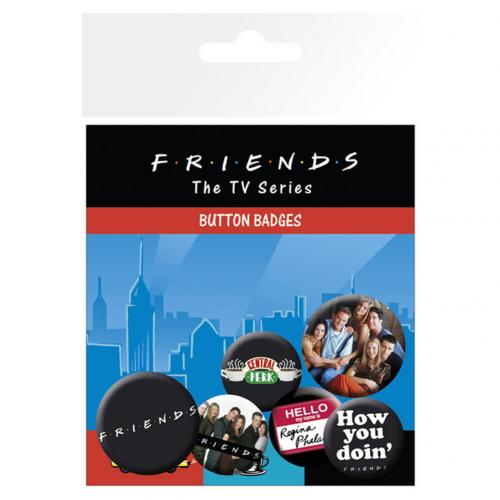 Pack Chapitas Friends