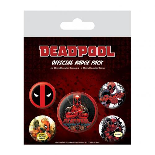Pack Chapitas Deadpool