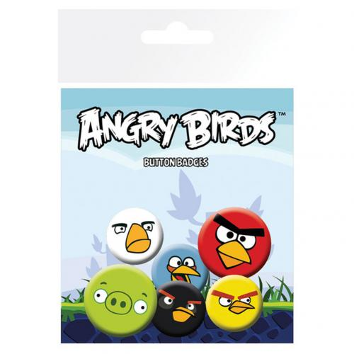 Pack chapitas Angry Birds