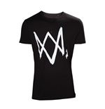 Camiseta Watch Dogs - Logo