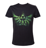 Camiseta The Legend of Zelda Green Triforce Logo
