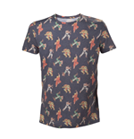 Camiseta Street Fighter - All over Characters