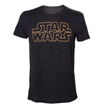 Camiseta Star Wars - Stars and Logo