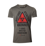 Camiseta Resident Evil - Biohazard Warning