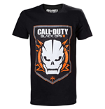 Camiseta Call Of Duty Black Ops III - Game Logo with Skull