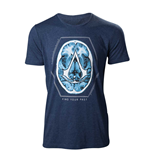 Camiseta Assassins Creed - Find Your Past Brain Crest
