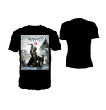 Camiseta Assassins Creed III - Game Cover