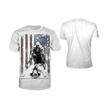 Camiseta Assassins Creed III - Burned Flag