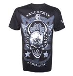 Camiseta Alchemy - Satan's Shield Solid