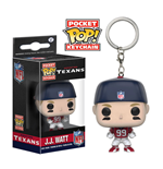 NFL Llavero Pocket POP!  Vinyl J.J. Watt (Houston Texans) 4 cm