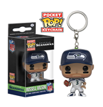 NFL Llavero Pocket POP!  Vinyl Russell Wilson (Seattle Seahawks) 4 cm