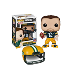NFL POP! Football Vinyl Figura Aaron Rodgers (Packers) 9 cm
